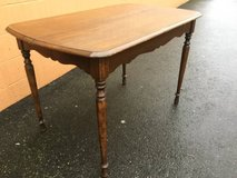 Early Mid-Century Dining Table in Fort Lewis, Washington