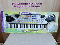 Brand New kawasaki musical keyboard 49 keys 10 instruments piano in Chicago, Illinois