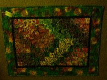 Small quilt wall hanging in Camp Pendleton, California