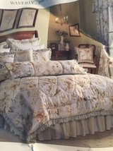 Waverly Queen Comforter Set matching valances in Savannah, Georgia