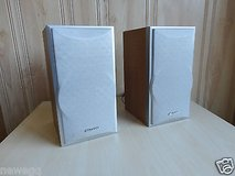 Sharp 1 pair 2.0 stereo speaker system(2 pcs) in Bolingbrook, Illinois