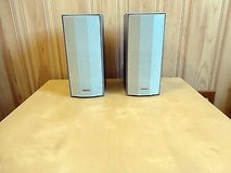 Pioneer--1 pair surround stereo speaker system(set of 2),silvery in Bolingbrook, Illinois