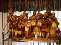 paper mache figures from mexico (13 total) in Plainfield, Illinois