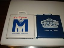 "Set of ""2"" July 16, 1989 THE GREAT CIRCUS PARADE SEAT CUSHIONS L@@K!! in Brookfield, Wisconsin"