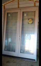 **REDUCED TO $1500.00**NICE Pella Clad Hinged Patio Double Door Brand New 6' x 8' in Alamogordo, New Mexico