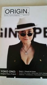 Yoko Ono interview in 2011 Origin magazine in Temecula, California