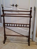 Quilt Rack - Vintage, Antique, Wood in Excellent Condition in Westmont, Illinois