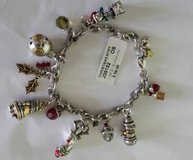 Brighton Christmas Story Charm Bracelet- New with tag in Glendale Heights, Illinois
