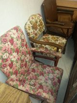Antique/Vintage/Mid Century Floral Parlor Chairs- 2 to choose from! in DeKalb, Illinois