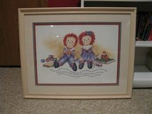 Framed Print - Raggedy Ann and Andy in Wheaton, Illinois