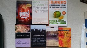 Books - Various titles - Great for High School or Adult reading in Westmont, Illinois