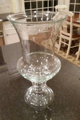 Hurricane Candle Holder - Large - Clear Glass in Chicago, Illinois