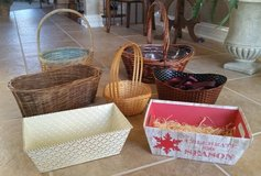 Gift Baskets - Various Size Baskets - Use to make your gift in Westmont, Illinois