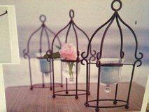 Southern Living at Home Cambridge Lantern ~ Wrought Iron - like new in Batavia, Illinois