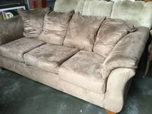 Microfiber Couch in Fort Lewis, Washington