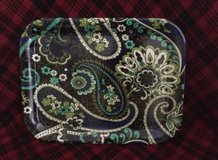Vera Bradley tray rhythm & blues - new! in Joliet, Illinois