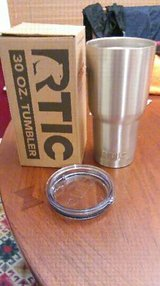 RTIC Tumbler 30oz Stainless Steel Tumbler With Lid *BRAND NEW* in Warner Robins, Georgia