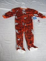 nfl denver broncos infant one piece sleepwear jumpsuit size 0-3 m football 4061 in Huntington Beach, California
