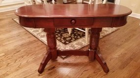 Sofa Table - Stained Wood - Drawer - Nice Details in Naperville, Illinois
