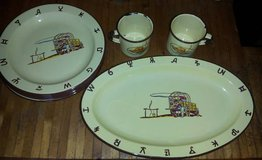 Vintage 1940s Monterry Plates Cups in Houston, Texas