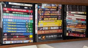 Huge lot 150 DVD 1950s/60s TV shows movies in Conroe, Texas
