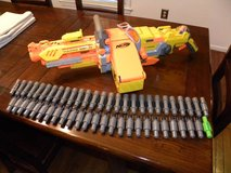 Nerf Vulcan Dart Minigun in Goldsboro, North Carolina