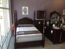 "***NEW SOLID HARDWOOD ""Georgia"" Poster Bedroom Suite in Beaufort, South Carolina"