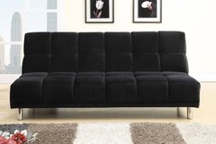 New Black Sofa Futon Bed FREE DELIVERY in Miramar, California
