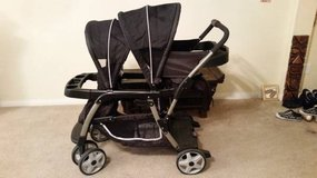 Graco Ready2Grow click connect double stroller lx in Schofield Barracks, Hawaii