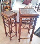 Rattan side tables (set of two) in Moody AFB, Georgia