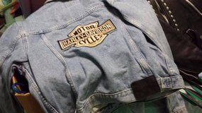 Vintage Harley Davidson Denim Jacket in Houston, Texas