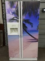 Kitchen Aid Beach Theme Side-By-Side Refrigerator with warranty! in Todd County, Kentucky