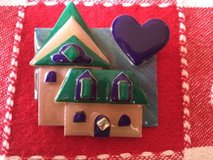 House Pins By Lucinda Brooch /pin Realtor Pin in Aurora, Illinois