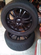 "22"" Boss 313 Rims and tires in Pensacola, Florida"