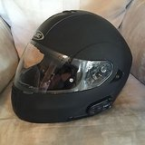 Modular motorcycle helmet with bluetooth! in Fort Bliss, Texas