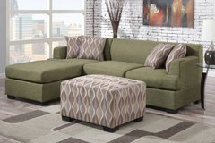 ➣New Periodot Green Loveseat Sectional FREE DELIVERY* in Miramar, California