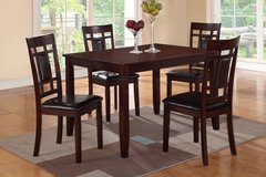 New Hardwood Dining Table + 4 Chairs Set FREE DELIVERY in Miramar, California