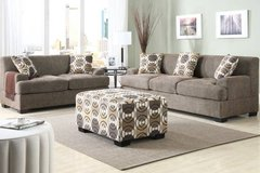 New Slate Gray Brown Linen Sofa and//or Loveseat FREE DELIVERY in Miramar, California