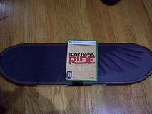 tony hawk: ride (xbox 360) with skateboard controller (2009). e10+. in Orland Park, Illinois