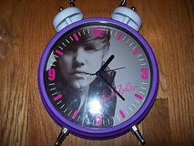 justin bieber retro alarm clock in Orland Park, Illinois