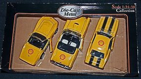 superior american oldies shell die-cast metal car collection, 1:34-38 scale, nib in Orland Park, Illinois