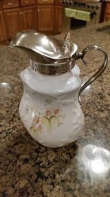Syrup Pitcher - Silver Spout and Handle in Bolingbrook, Illinois
