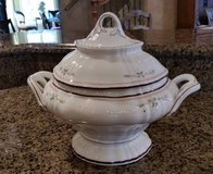 Tureen - German -Antique - Floral design in Bolingbrook, Illinois