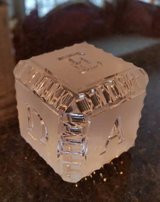 Waterford Baby Block Alphabet Lead Crystal in Westmont, Illinois