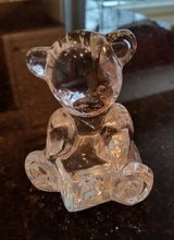 "Waterford Crystal Teddy Bear Figurine Made in Ireland 3"" tall in Naperville, Illinois"