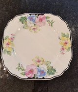 Plate - Floral Pattern - Vintage - The Harbor Pottery Company in Naperville, Illinois