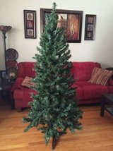 6 foot mixed pine artificial Christmas tree in Plainfield, Illinois