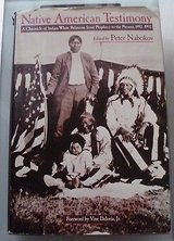 native american testimony:a chronicle of indian-white relations from prophecy113 in Lockport, Illinois