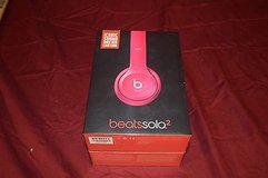 new in box beats dr. dre solo 2 on-ear headphones gloss pink factory sealed in Huntington Beach, California