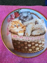 Three Little Kittens collector plate in Macon, Georgia